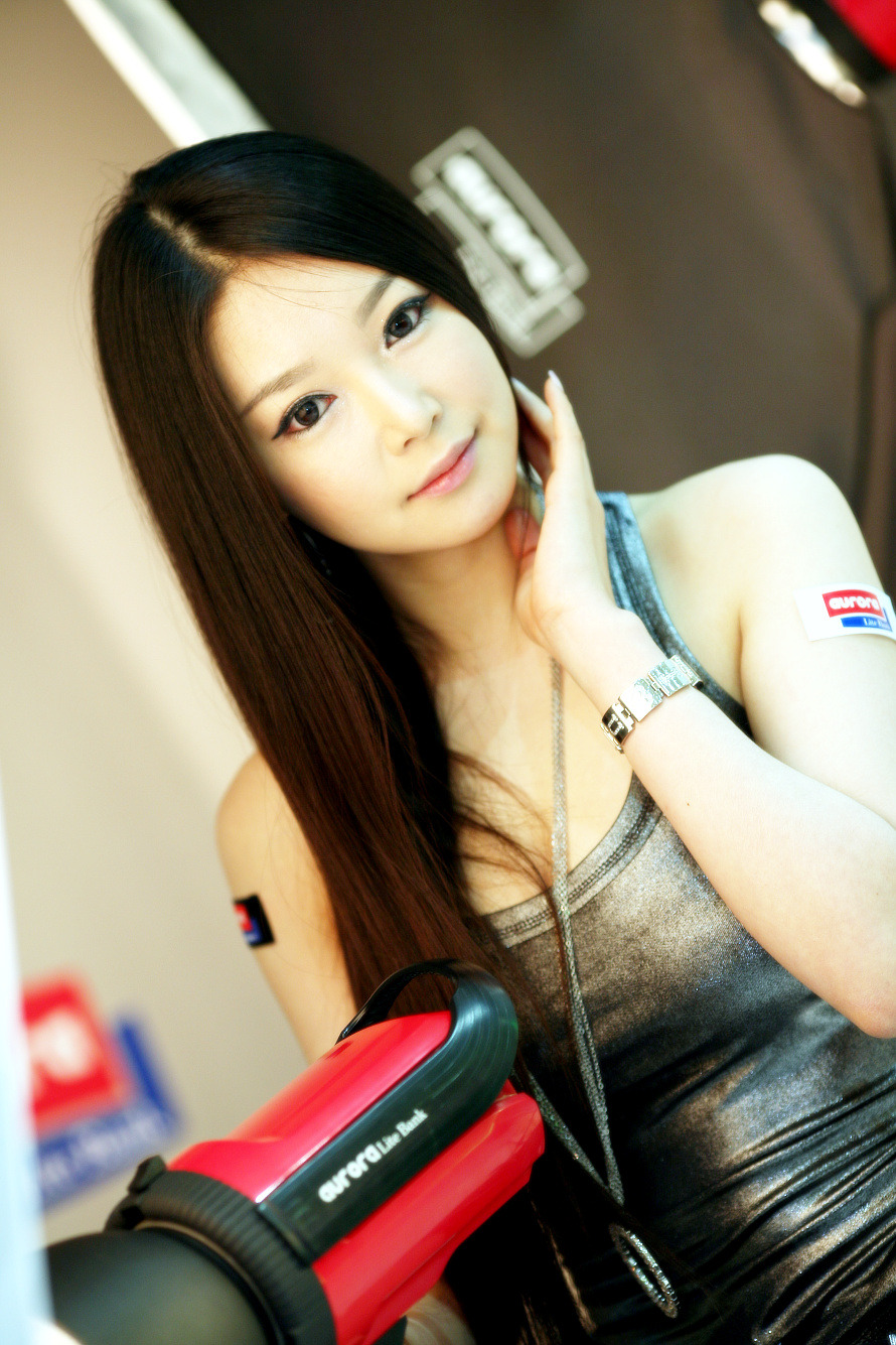 Chinese Sexy Model As Presenter  Good Asian Girl-3445