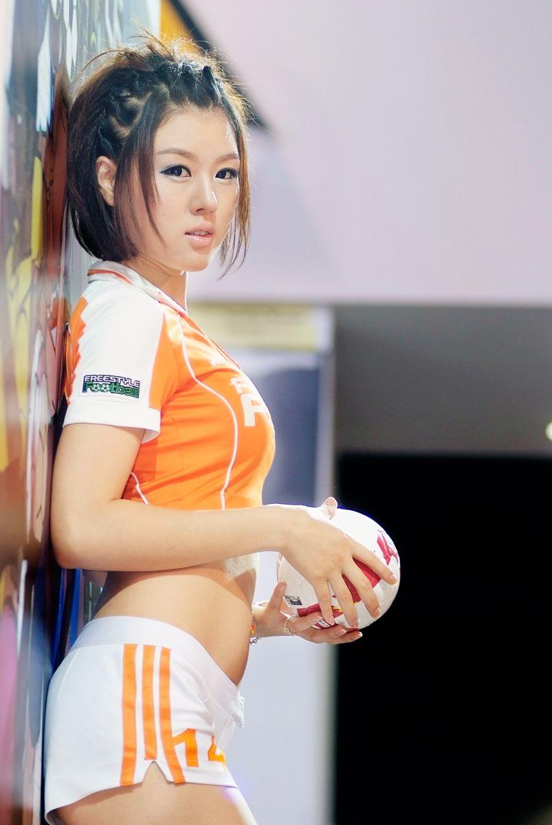 Best Korean Top Model Hwang Mi Hee (Football Promo Pics