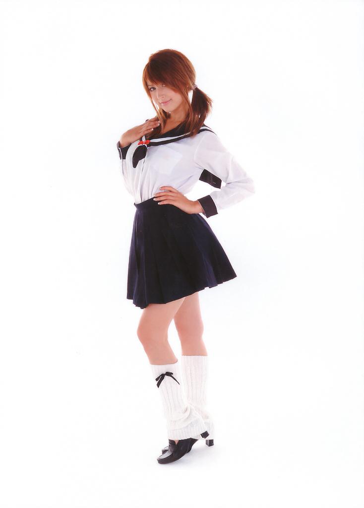 Leah Dizon In School Uniform  Good Asian Girl-5019