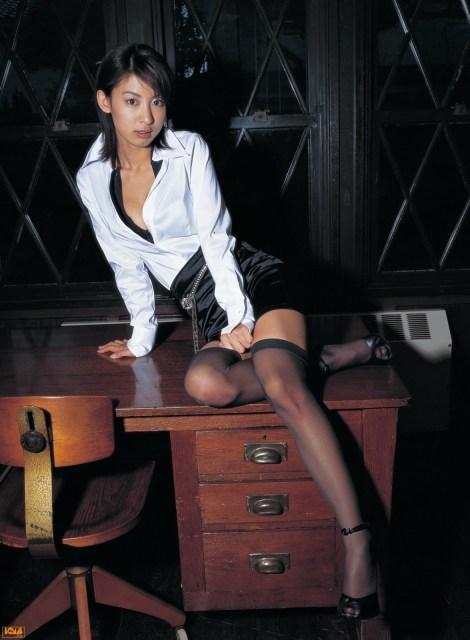 Mariko Okubo Sexy Librarian Girl  Good Asian Girl-7713