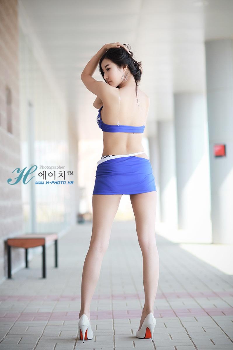Sexy Korean Racequeen Han Song  Good Asian Girl-4771